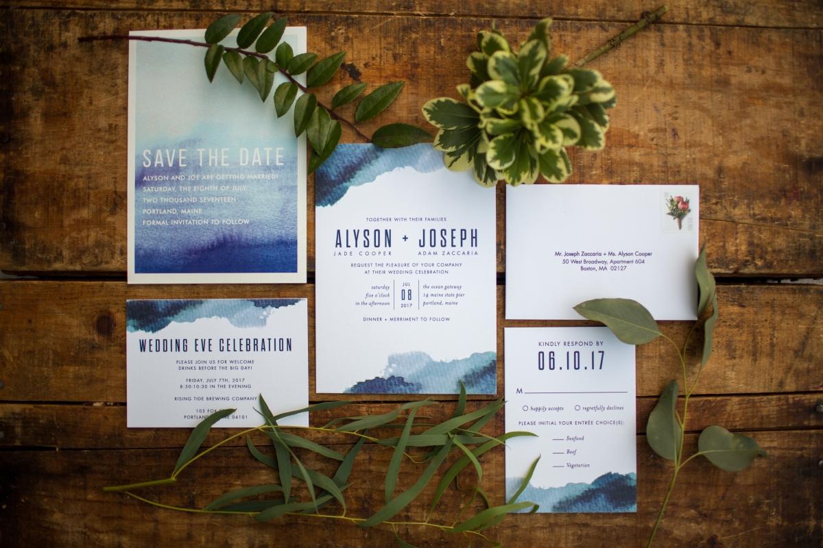 Ocean Gateway Wedding Invitations