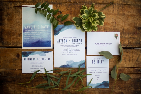 Ocean Gateway Wedding Invitations