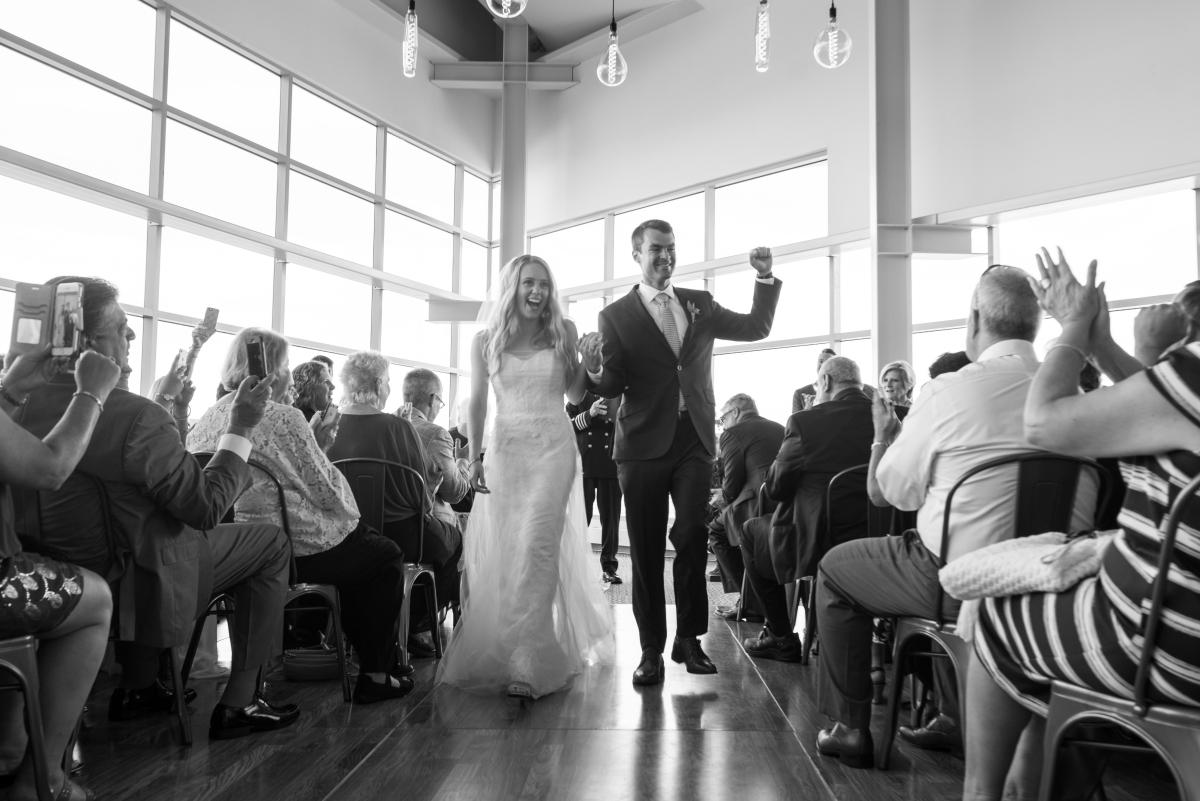 Ocean Gateway Wedding Just Married