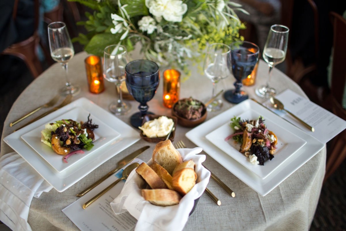 Ocean Gateway Wedding Salads