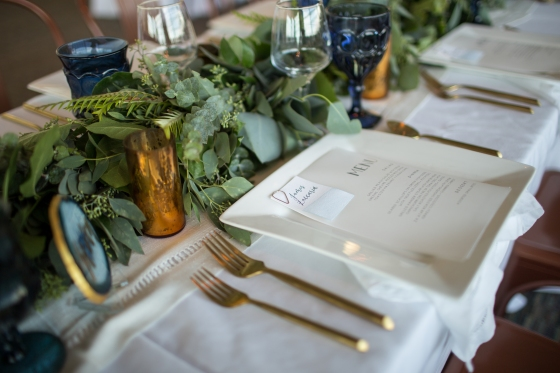 Ocean Gateway Wedding Table Details