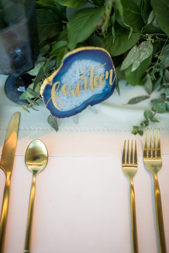 Ocean Gateway Wedding Table Numbers