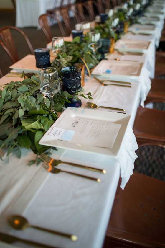 Ocean Gateway Wedding Table Scape