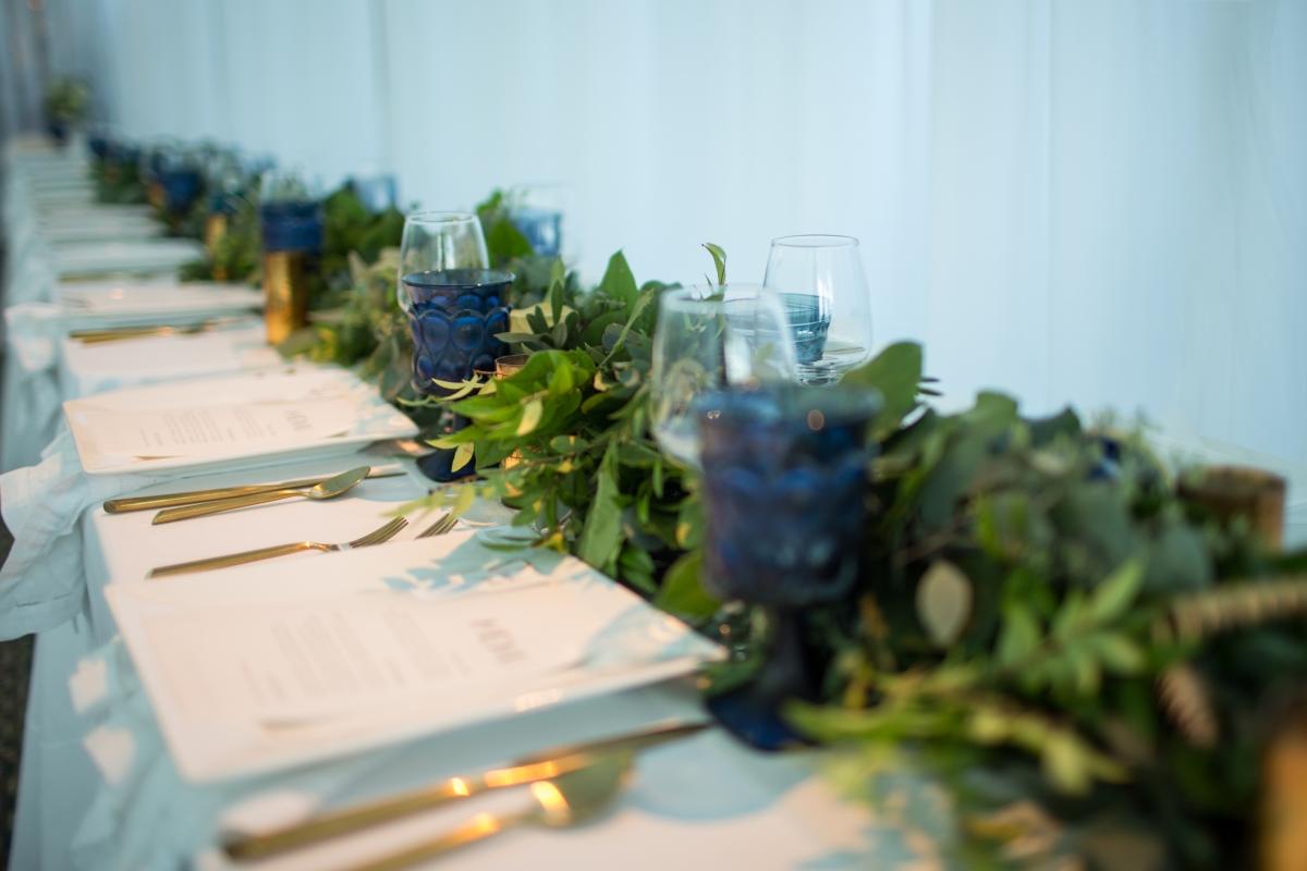 Ocean Gateway Wedding Tablescape