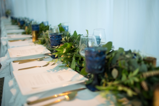 Ocean Gateway Wedding Tablescape