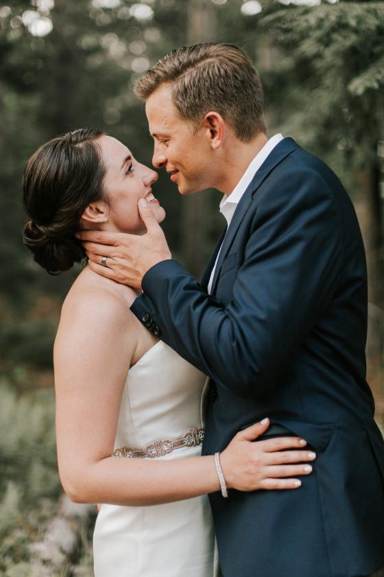 Bride and Groom photo at Hidden Pond Wedding in Kennebunkport, Maine
